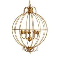 Old Gold 47cm Classic Drop Ceiling Light - Chic Paradis Lux